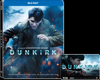 Dunkirk (鄧寇克大行動) (Region A) 2xBlu-ray Steelbook Ltd 2017