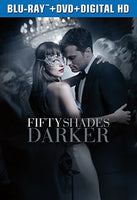 Fifty Shades Darker 格雷的五十道色戒2  (Blu-ray+DVD+Digital HD)  2017 - 852 Entertainment