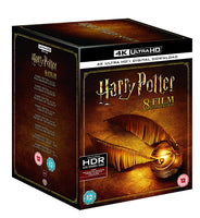 Harry Potter Complete 8-Film Collection 4K Ultra HD + Digital Download 2017