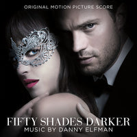 O.S.T. Fifty Shades Darker (Score)  格雷的五十道色戒2  CD by Danny Elfman - 852 Entertainment
