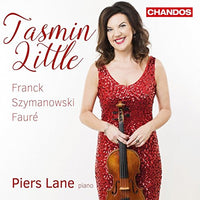 TASMIN LITTLE  plays Franck, Szymanowski & Fauré CD