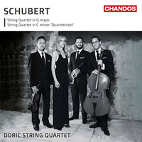 FRANZ SCHUBERT String Quartets CD 2017