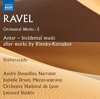 Maurice Ravel: Orchestral Works, Vol. 5 CD 2017