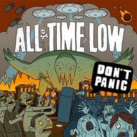 ALL TIME LOW Don't Panic CD 2012 - 852 Entertainment