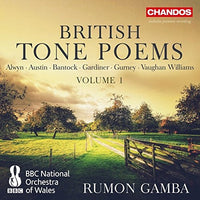 RUMON GAMBA  British Tone Poems, Vol. 1 CD 2017