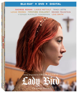 Lady Bird (Region A, 1) Blu-ray+DVD 2018