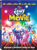 My Little Pony: The Movie (Region 1) DVD 2018