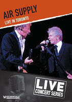 AIR SUPPLY LIVE IN TORONTO DVD 2014 - 852 Entertainment