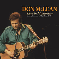 DON MCLEAN Live in Manchester 2CD+DVD 2014 - 852 Entertainment