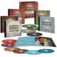 Various Artists COUNTRY MUSIC OF YOUR LIFE 10CD 2017 - 852 Entertainment