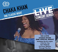 CHAKA KHAN One Classic Night CD+DVD 2015 - 852 Entertainment