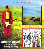 ADRIAN BELEW Lone Rhino / Twang Bar King CD 2009