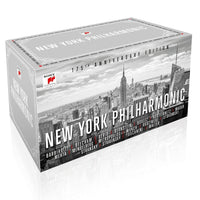 NEW YORK PHILHARMONIC 175TH ANNIVERSARY 65CD BOXSET 2017 - 852 Entertainment
