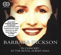 BARBARA DICKSON In Concert At The Royal Albert Hall CD+DVD 2015 - 852 Entertainment
