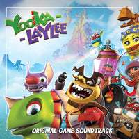 ORIGINAL GAME SOUNDTRACK YOOKA-LAYLEE CD 2017 - 852 Entertainment