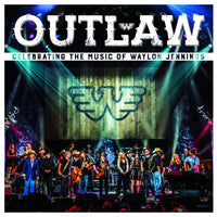 Various Artists OUTLAW: CELEBRATING MUSIC OF WAYLON JENNINGS CD+DVD 2017 - 852 Entertainment