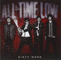 ALL TIME LOW Dirty Work CD 2011 - 852 Entertainment