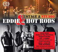 EDDIE & THE HOT RODS STAGE & STUDIO CD+DVD 2015 - 852 Entertainment