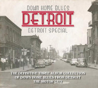 VA DOWN HOME BLUES DETROIT: DETROIT SPECIAL 3CD 2016 - 852 Entertainment