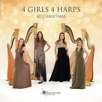 4 GIRLS 4 HARPS At Christmas CD 2014
