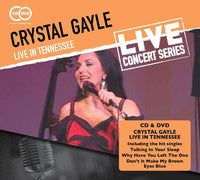 CRYSTAL GAYLE Live in Tennessee  CD+DVD 2015 - 852 Entertainment