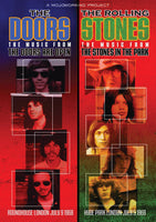 THE DOORS  - The Music From The Doors Are Open & THE ROLLING STONES - The Music From The Stones In The Park DVD 2011 - 852 Entertainment