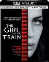 THE GIRL ON THE TRAIN  (4K Ultra HD+Blu-ray+Digital HD) (US) 2017 - 852 Entertainment
