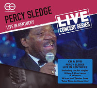 PERCY SLEDGE Live in Kentucky CD+DVD 2006 - 852 Entertainment