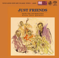 Satolu Oda & Hank Jones Great Jazz Quintet Satoru Oda Just Friends SACD (JP) 2017
