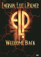 EMERSON, LAKE & PALM WELCOME BACK DVD 2015 - 852 Entertainment