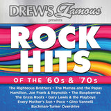 DREW'S FAMOUS ROCK HITS OF THE 60S & 70S CD 2017 - 852 Entertainment