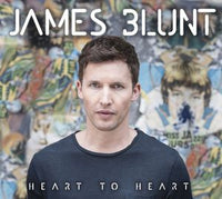JAMES BLUNT Heart to Heart EP (EU) CD 2014 - 852 Entertainment