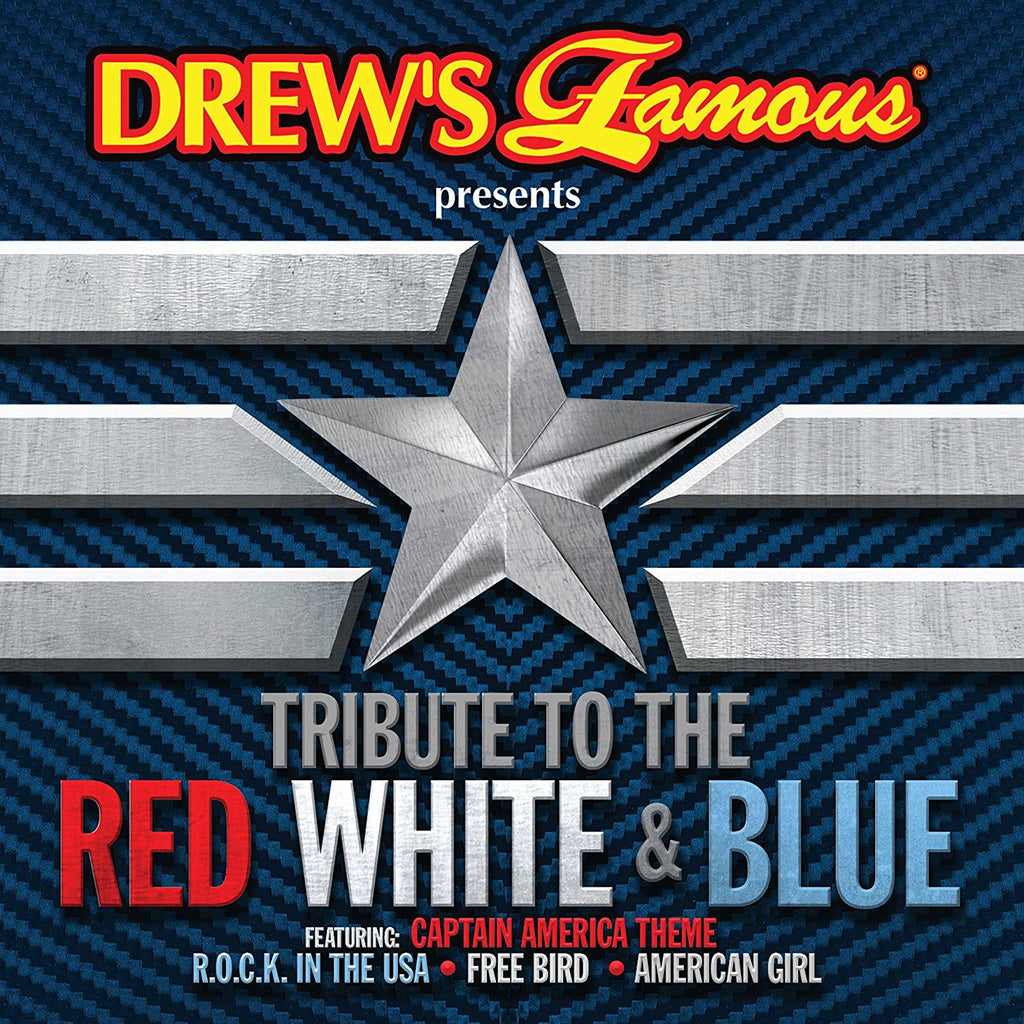 DREW'S FAMOUS TRIBUTE TO THE RED WHITE & BLUE CD - 852 Entertainment