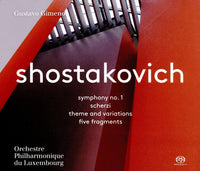 Shostakovich: Symphony No. 1, Scherzi, Theme and Variations & 5 Fragments SACD