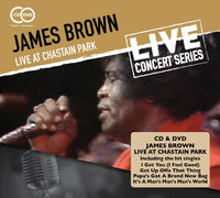 JAMES BROWN Live at Chastain Park CD+DVD 2015 - 852 Entertainment
