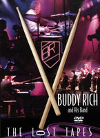 BUDDY RICH AND HIS BAND: The Lost Tapes DVD 2015 - 852 Entertainment