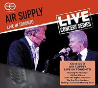 AIR SUPPLY LIVE IN TORONTO CD+DVD 2015 - 852 Entertainment