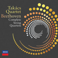 BEETHOVEN / TAKACS QUARTET COMPLETE STRING QUARTETS 7CD+Blu-Ray Audio+DVD - 852 Entertainment