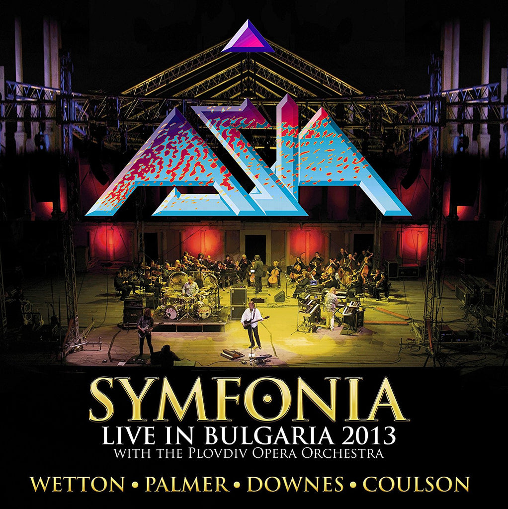 ASIA Symphonia Deluxe Edition 2CD+DVD 2017 - 852 Entertainment
