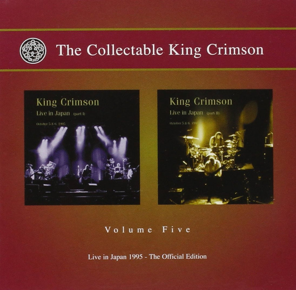 KING CRIMSON Collectable King Crimson 5: Live in Japan 1995 2CD 2010 - 852 Entertainment