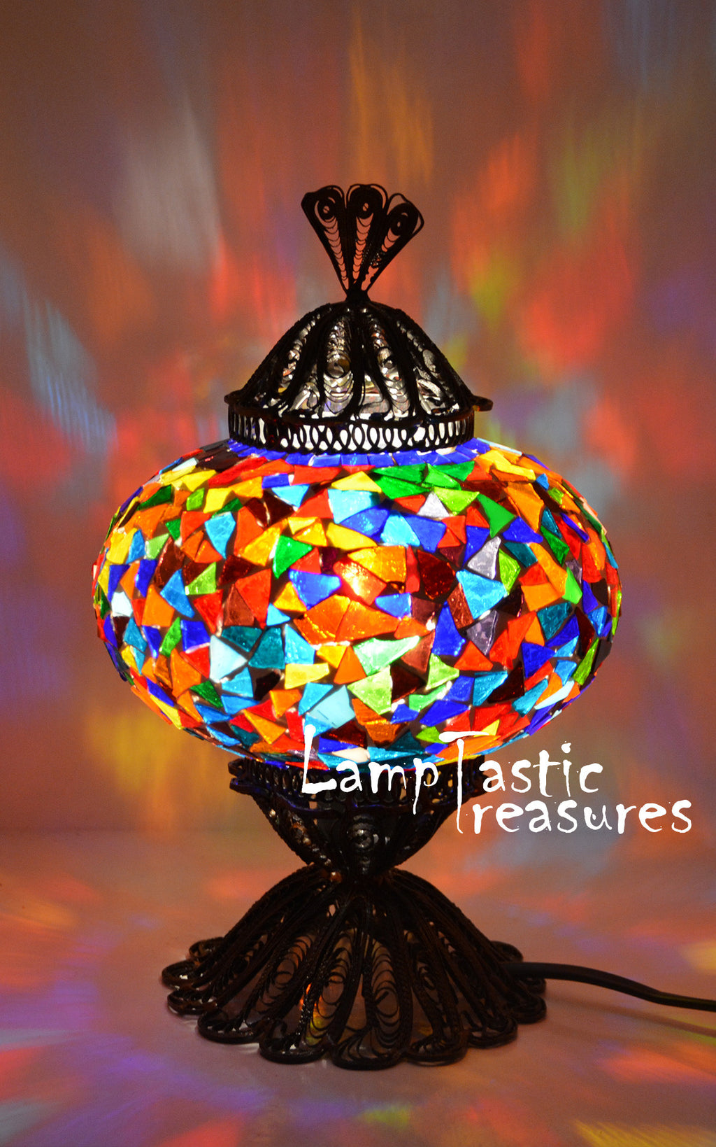 Integrating Turkish Mosaic Lamps into your home