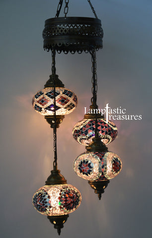 Turkish Mosaic Hanging Lamps  Free worldwide shipping  Buy