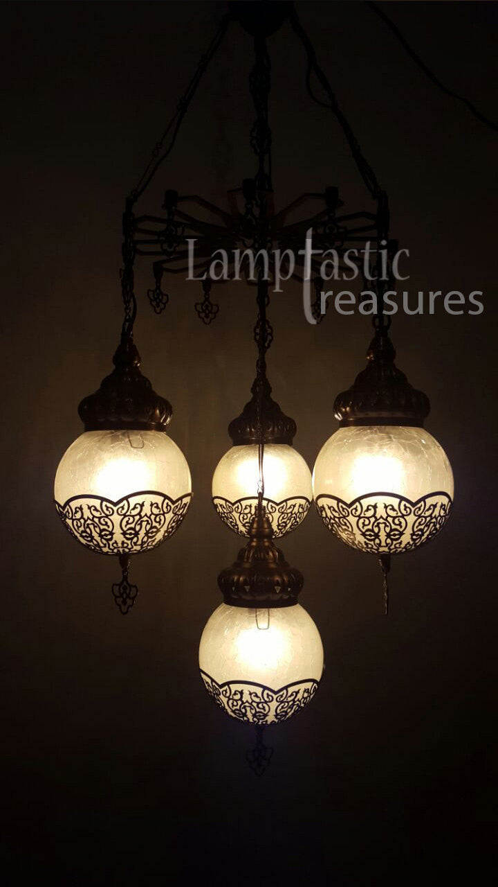 Glass globe modern chandelier lamptastic chandeliers glass chandeliers modern chandeliers dining room chandeliers turkish lamps turkish arubaitofo Choice Image