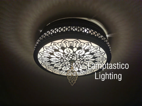 Turkish Morrocan Ceiling Sconce, Ceiling Lamp