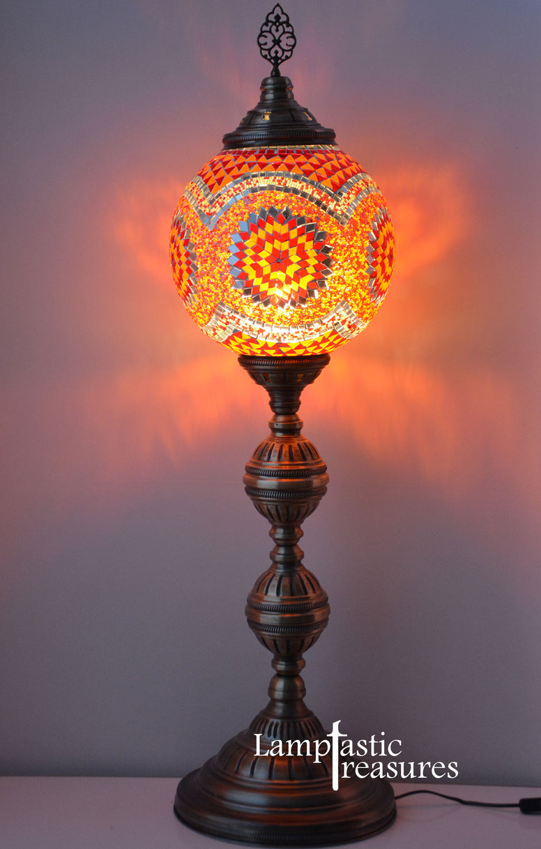 Turkish Mosaic lamp Moroccan Style Floor Lamp