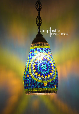 Retro Style Turkish Hanging Lamp