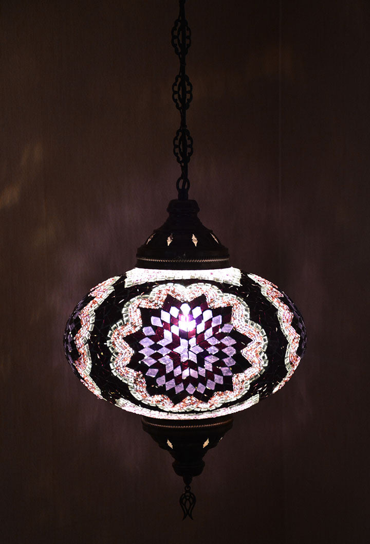 dome meyda pendant bronze baroque stained pd tiffany glass mahogany single in hardwired style shop