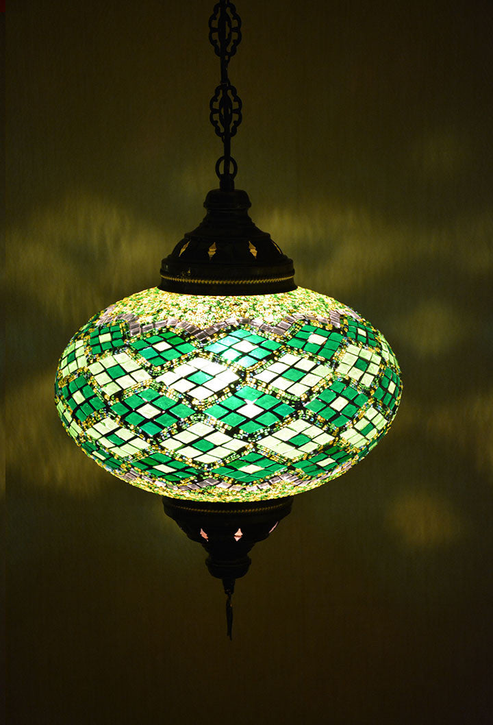 pendant iron tiffany pin wrought glass ceiling style light with stained lotus base
