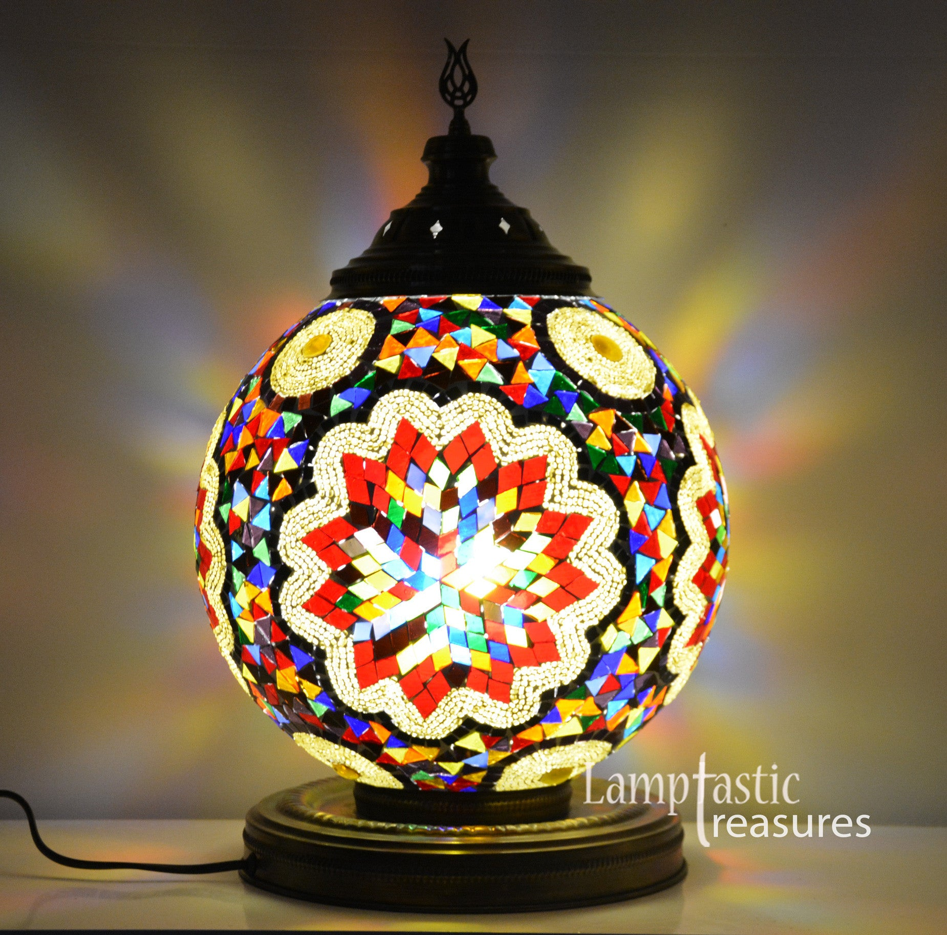 Turkish mosaic table lamp large glass globe lamptastic turkish lamps turkish lamp turkish mosaic lamps turkish lighting lamps turkish aloadofball Images