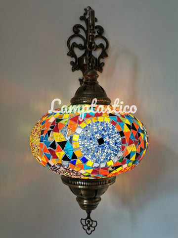 Turkish Mosaic Wall Light X-Large